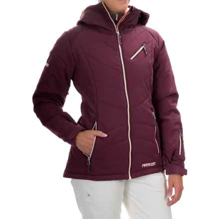 Marker Snowdancer Pertex® Ski Jacket - Waterproof, Insulated (For Women) in Currant - Closeouts