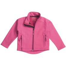 Marker Snuggler Jacket - Fleece (For Toddlers) in Pink - Closeouts