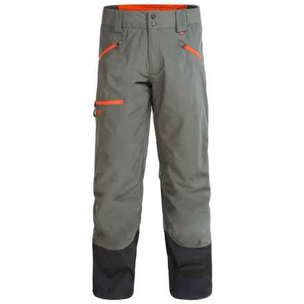 Marker Steep 'N Deep Gore-Tex® Ski Pants - Waterproof (For Men) in Dark Shadow/Orange - Closeouts