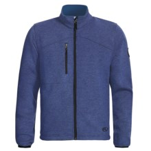 Marker Storm Fleece Jacket (For Men) in Vintage Blue - Closeouts