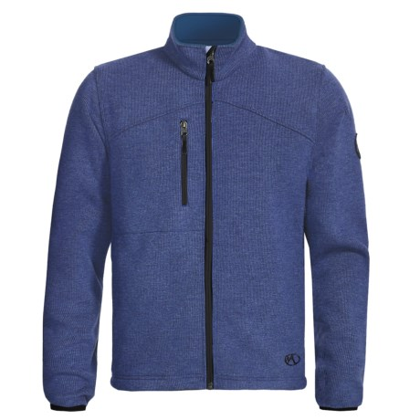 Marker Storm Fleece Jacket (For Men) in Vintage Blue