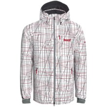 Marker Stratum Gore-Tex® Ski Jacket - Waterproof, Insulated (For Men) in White - Closeouts