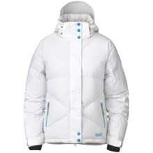 Marker Taylor Down Jacket - Waterproof (For Women) in White - Closeouts