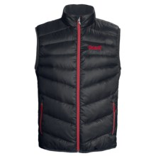 Marker Torch Down Vest - 600 Fill Power (For Men) in Black - Closeouts