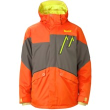 Marker Trance Jacket - Waterproof, Insulated (For Men) in Orange - Closeouts