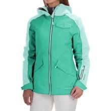 Marker Twilight Gore-Tex® Ski Jacket - Waterproof, Insulated (For Women) in Aqua Green - Closeouts