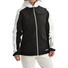 Marker Twilight Gore-Tex® Ski Jacket - Waterproof, Insulated (For Women) in Black/Crisp White - Closeouts