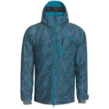 Marker Vertigo Print Ski Jacket - Waterproof, Insulated (For Men) in Blue - Closeouts