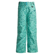 Marker Vixen Pants - Insulated (For Girls) in Aqua - Closeouts