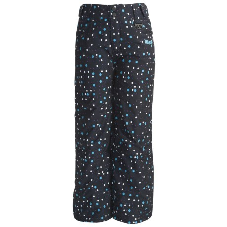Marker Vixen Pants - Insulated (For Girls) in Black