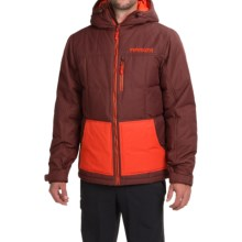 Marker Whitefish Down Jacket - Insulated (For Men) in Bitter Brown - Closeouts