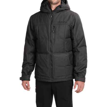 Marker Whitefish Down Jacket - Insulated (For Men) in Black - Closeouts