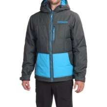 Marker Whitefish Down Jacket - Insulated (For Men) in Dark Shadow - Closeouts