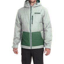 Marker Whitefish Down Jacket - Insulated (For Men) in Stone - Closeouts