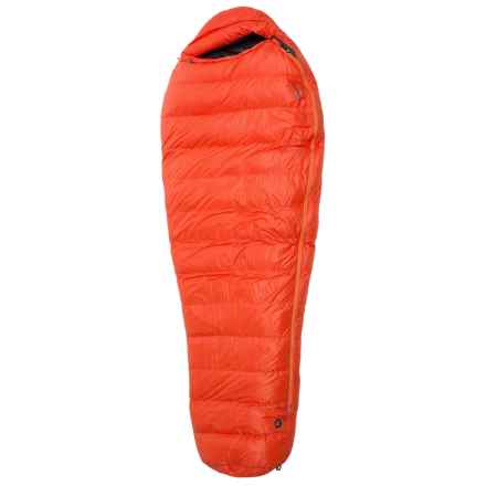 Marmot 0°F Radon Down Sleeping Bag - 800 Fill Power, Mummy, Long in Sunset Orange - Closeouts