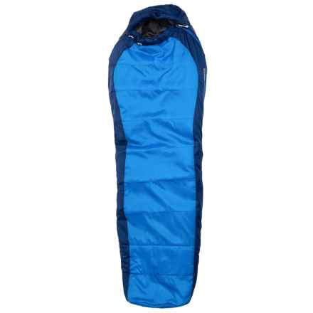 Marmot 15°F Sorcerer Jr. Sleeping Bag - Mummy (For Kids) in Cobalt Blue/Deep Blue - Closeouts