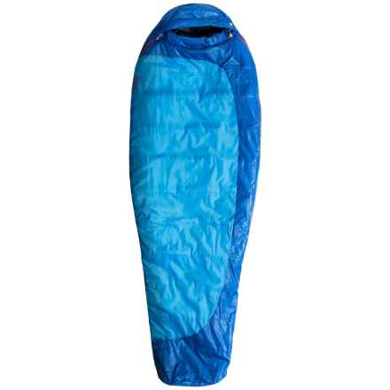 Marmot 15°F Trestles Sleeping Bag - Long Mummy (For Women) in Ceylon Blue/Lapis - Closeouts