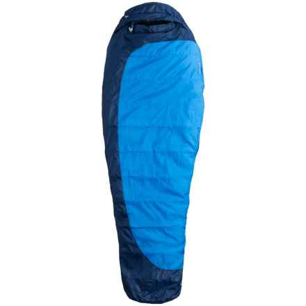 Marmot 15°F Trestles Sleeping Bag - Mummy, Long, Extra Wide in Cobalt Blue/Deep Blue - Closeouts