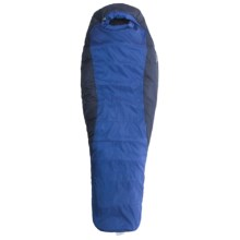 Marmot 15°F Wizard Sleeping Bag - Synthetic, Long Mummy in Electric/Tempest - Closeouts