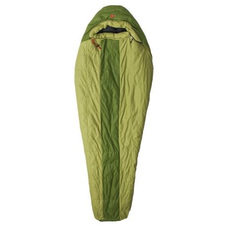 Marmot 20°F Flathead Down Sleeping Bag - 600 Fill Power, Mummy in Cash/Forest