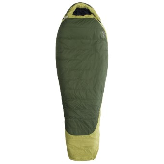 Marmot 20°F Flathead Down Sleeping Bag - 600 Fill Power, Mummy in Dark Cedar/Cash