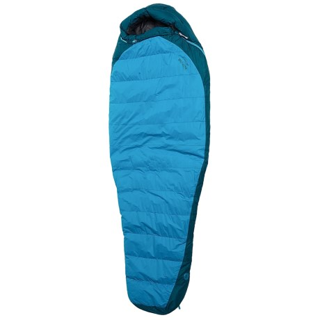 Marmot 20°F Sawatch Down Sleeping Bag - 650 Fill Power, Mummy (For Women) in Ocean/Sea Scape