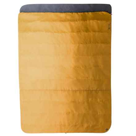Marmot 30°F Mavericks Double-Wide Sleeping Bag - Rectangular in Golden Copper/Dark Olive - Closeouts