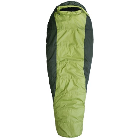 Marmot 30°F Merlin Sleeping Bag - Synthetic, Long Mummy in Hemlock/Dark Cedar