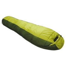 Marmot 30°F Mystic Sleeping Bag - Synthetic, Long Mummy in Cash/Dark Cedar - Closeouts