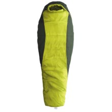 Marmot 30°F Mystic Sleeping Bag - Synthetic, Mummy in Cash/Dark Cedar - Closeouts