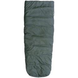 Marmot 30°F Sorcerer Sleeping Bag - Synthetic, Semi-Rectangular in Dark Cedar/Cash
