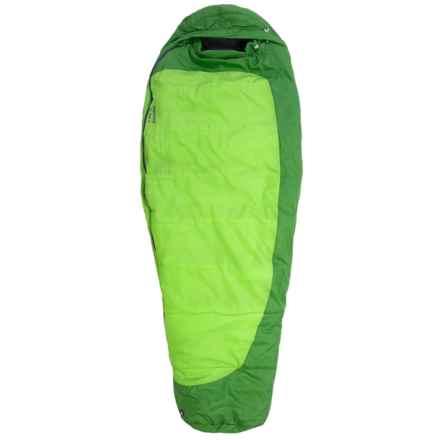Marmot 30°F Trestles Sleeping Bag - Long, Mummy (For Women) in Abstract Green/Dark Grass - Closeouts