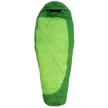 Marmot 30°F Trestles Sleeping Bag - Synthetic, Mummy (For Women) in Abstract Green/Dark Grass - Closeouts