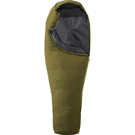 Marmot 35°F NanoWave Sleeping Bag - Mummy, Long, Cosmetic Seconds in Moss