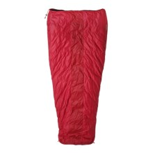 Marmot 40°F Bridger Down Sleeping Bag - 600 Fill Power, Semi-Rectangular in Real Red/Fire - Closeouts