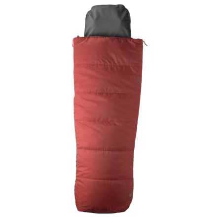 Marmot 40°F Mavericks Sleeping Bag - Semi-Rectangular in Redstone/Dark Fire - Closeouts