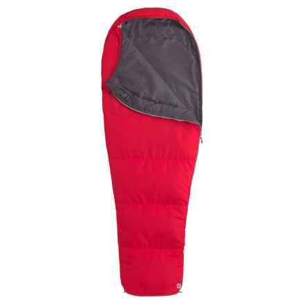 Marmot 45°F Nanowave Sleeping Bag - Mummy in Team Red - 2nds
