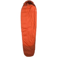 Marmot 5°F Rampart Down Sleeping Bag - 650 Fill Power, Long Mummy in Rusted Orange/Mahogany - Closeouts