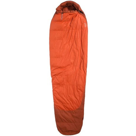 Marmot 5°F Rampart Down Sleeping Bag - 650 Fill Power, Long Mummy in Rusted Orange/Mahogany