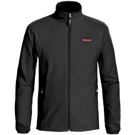 Marmot Aber Jacket - Soft Shell (For Men) in Black