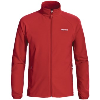 Marmot Aber Jacket - Soft Shell (For Men) in Cardinal