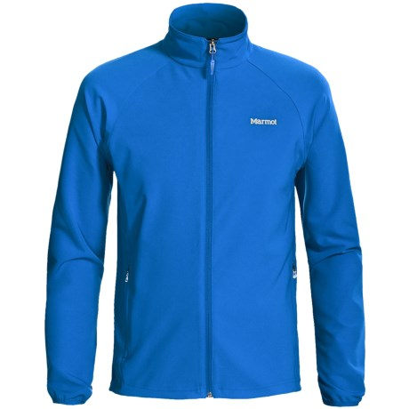 Marmot Aber Jacket - Soft Shell (For Men) in Cobalt Blue