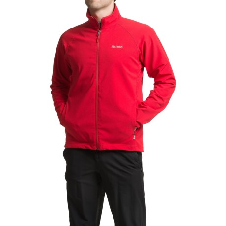 Marmot Aber Jacket - Soft Shell (For Men) in Team Red