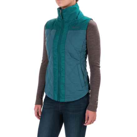 Marmot Abigal Vest - Insulated (For Women) in Moon River/Everglade - Closeouts