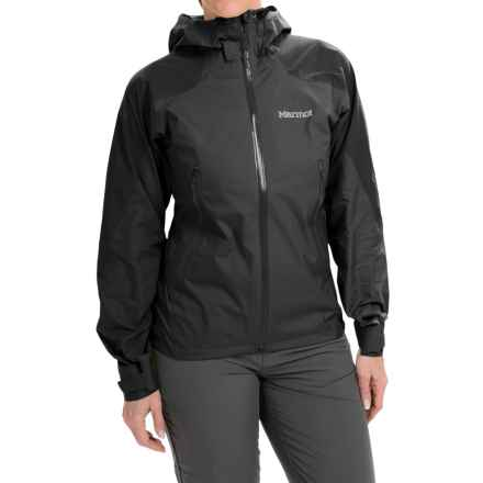 Marmot Adroit Jacket - Waterproof (For Women) in Black - Closeouts
