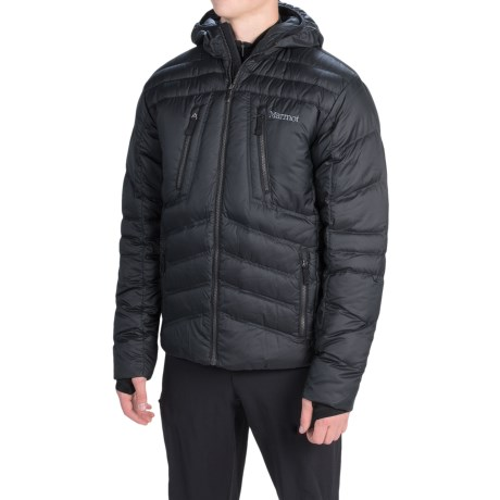 Marmot Aerial Hooded Down Jacket 700 Fill Power (For Men)