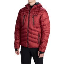 Marmot Aerial Hooded Down Jacket - 700 Fill Power (For Men) in Dark Crimson - Closeouts
