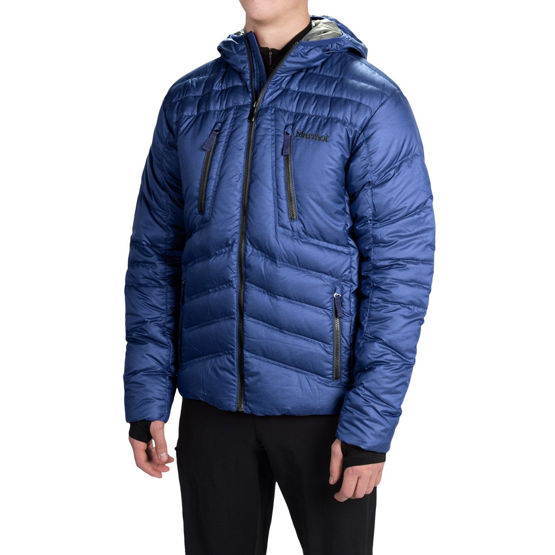 Marmot Aerial Hooded Down Jacket (For Men)