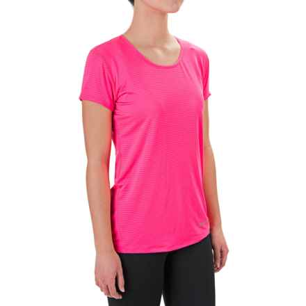 Marmot Aero Shirt - Short Sleeve (For Women) in Kinetic Pink - Closeouts