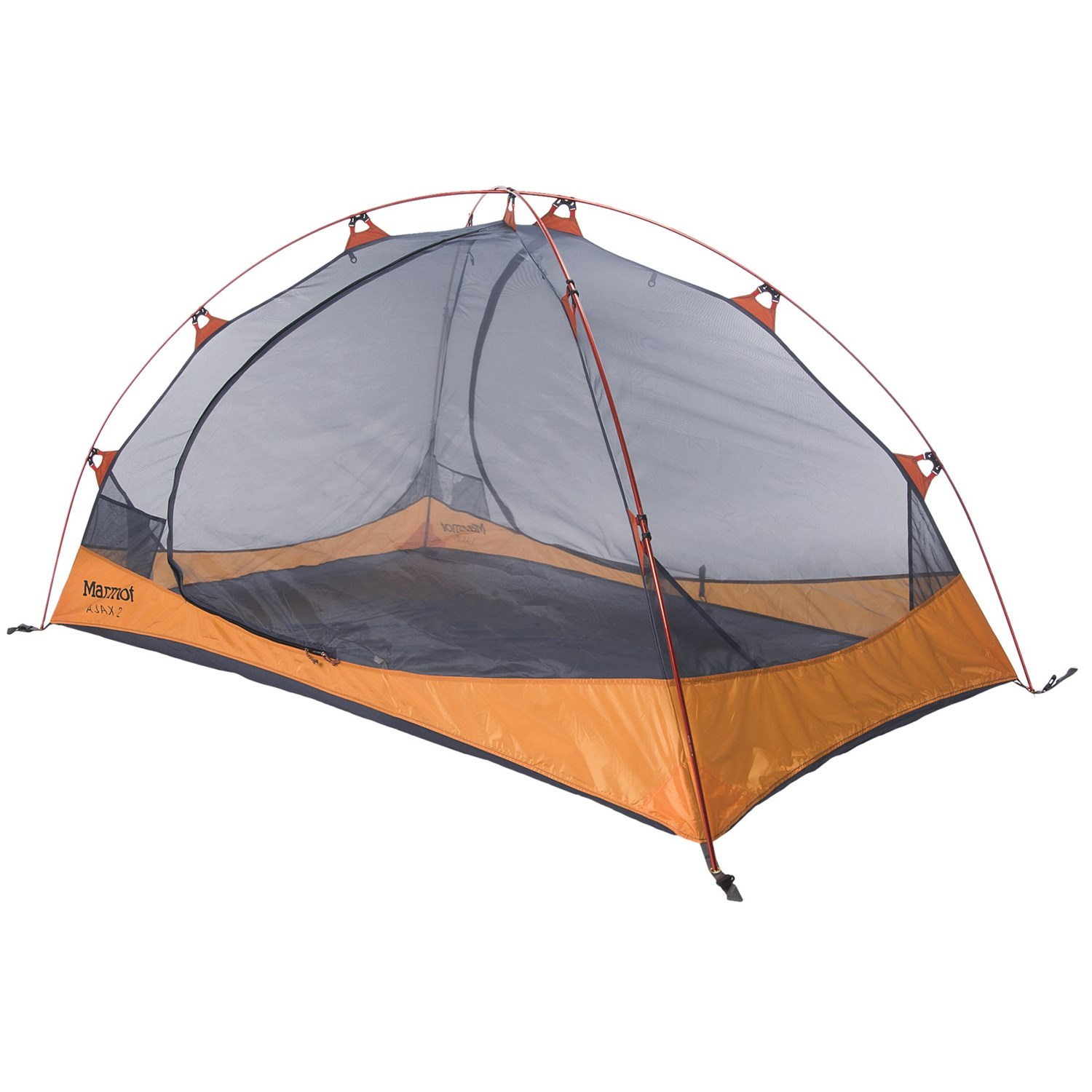 Marmot Ajax 2 Tent - 2-Person 3-Season in Pale Pumpkin/  sc 1 st  Sierra Trading Post : 2 person tent with vestibule - memphite.com